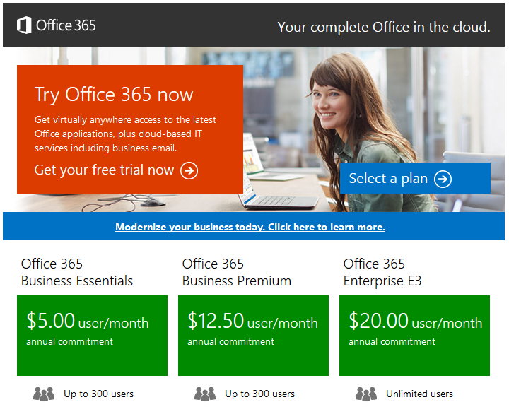Office 365 link